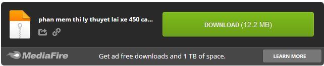Download phần mềm 450 câu hỏi