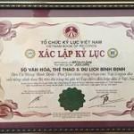 5 điểm du lịch Bình Định xác lập kỷ lục Việt Nam